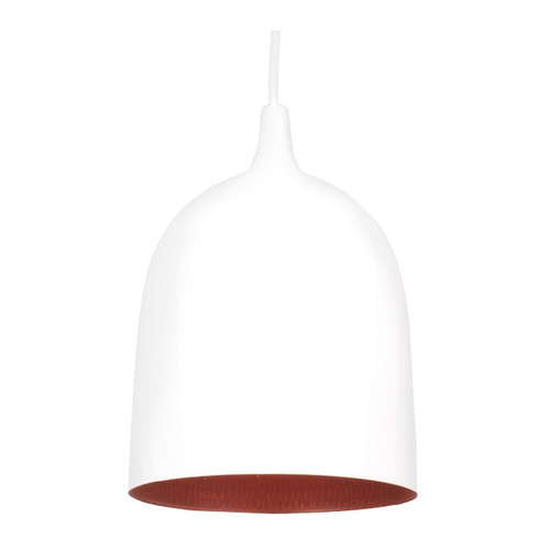 Lumi White Label Copper Pendant Light