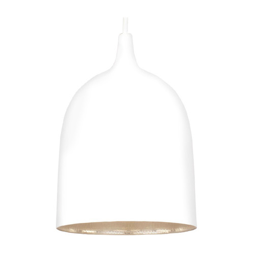 Lumi White Label Silver Pendant Light