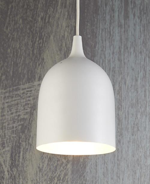 Lumi White Label Silver Pendant Light
