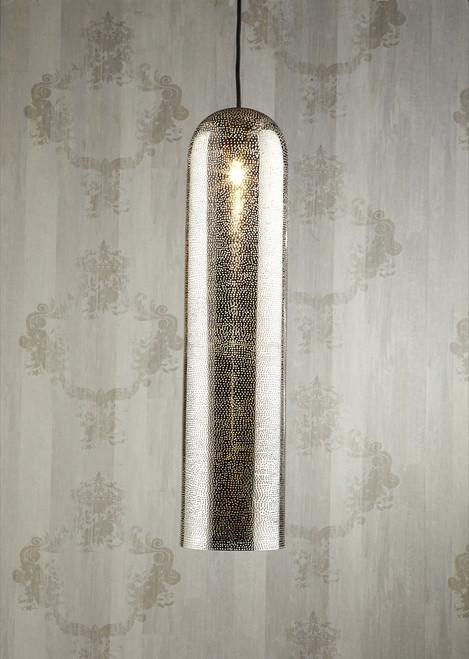 Moroccan Nickel Pendant Lamp