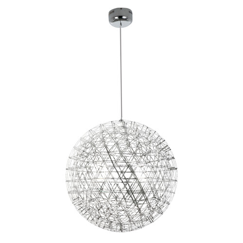 Replica Moooi Raimond Suspension Light  - Stainless Steel - Premium - Large - Light Off