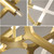 Replica Lindsey Adelman Agnes 14 Bulb Chandelier Brass