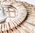 Lincoln Split Cane Woven Pendant Light