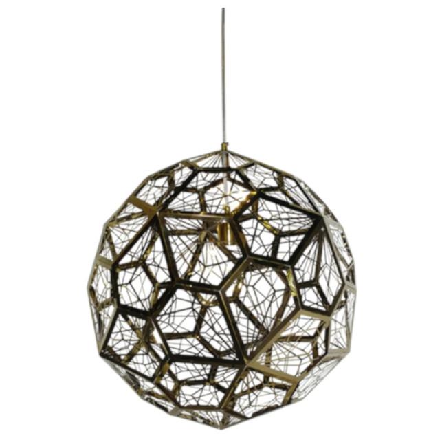 Net Pendant Light - Gold