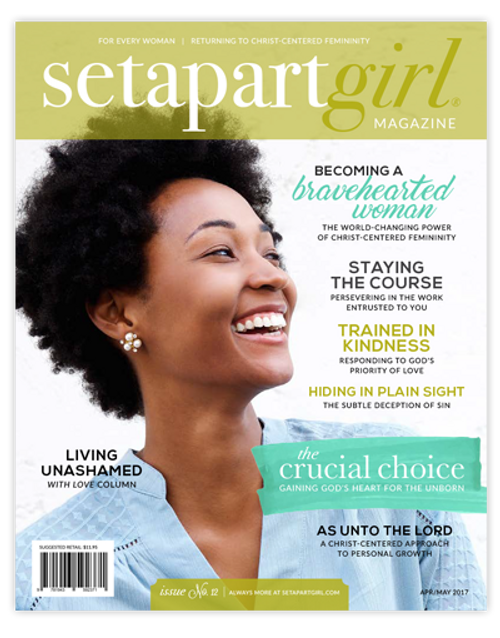 FLASH SALE! SET APART GIRL MAGAZINE | NO. 12