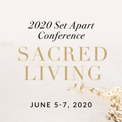 Early Bird Pricing // 2020 Set Apart Conference