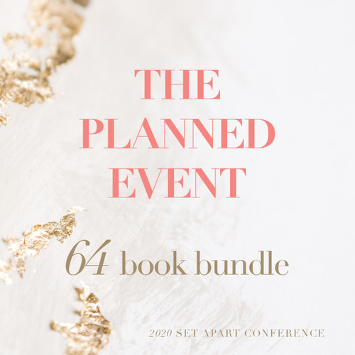 THE PLANNED EVENT — Book Bundle