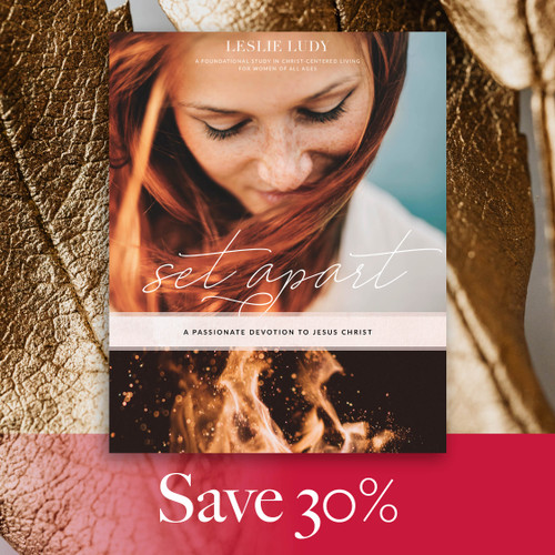 Save 30% on Set Apart: A Passionate Devotion to Jesus Christ