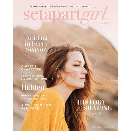 NEW! SET APART GIRL MAGAZINE | NO. 30