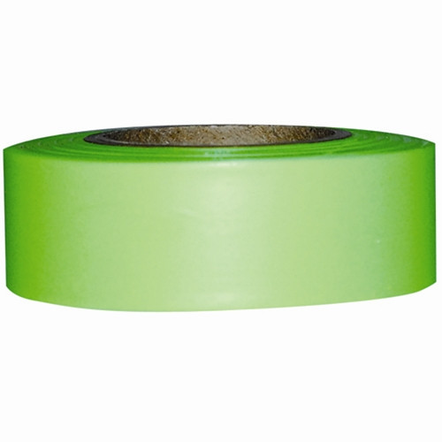 "1"" x 200' Lime Flagging Tape"