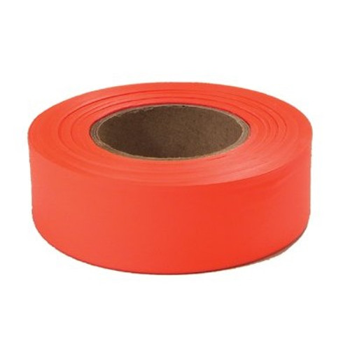 "1"" x 200' Orange Flagging Tape"