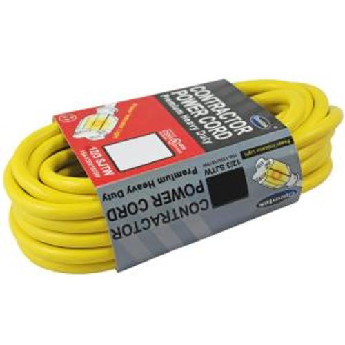 Conntek 12/3 Gauge 50 Foot Contractor Cord