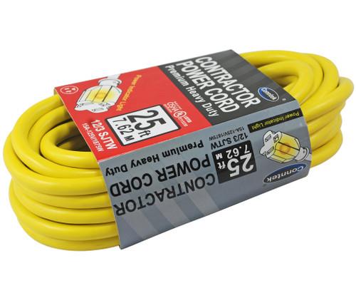 Conntek 12/3 Gauge 25 foot Contractor Cord