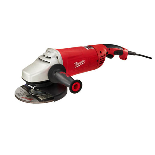 "Milwaukee 15 Amp 7""/9"" Large Angle Grinder w/ Lock-on"