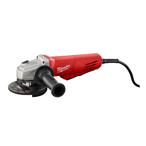 "Milwaukee 11 Amp 4-1/2"" Small Angle Grinder Paddle, Lock-On"