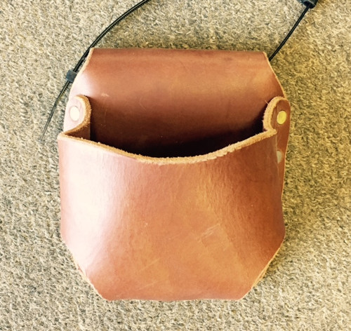 "Amish Leather Tape Holder (3"" Belt)"