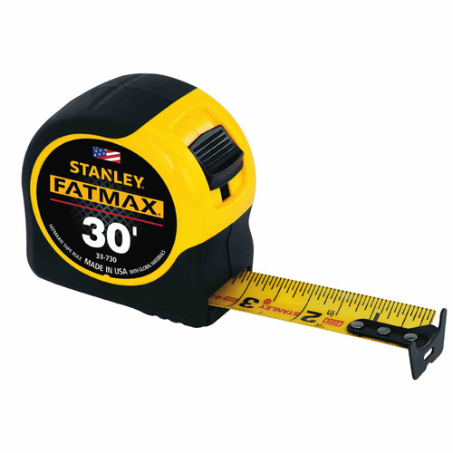 Stanley 30' Fat Max Tape Measurer