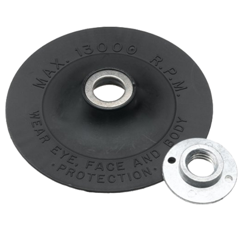 "Bosch 4-1/2"" Sander Backing Pad with Lock Nut - MG0450"