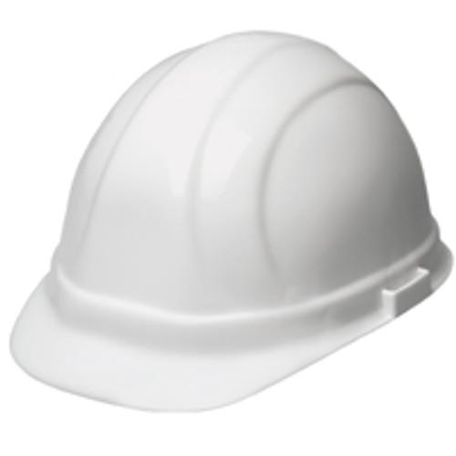 6pt Ratchet White Hard Hat