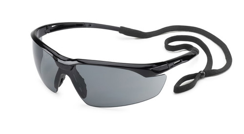Conqueror Glasses - Black Frame/Gray Lens