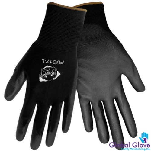 Black General Purpose Work Gloves (Dozen)