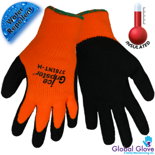 Ice Gripster HiViz Orange Work Glove
