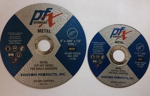 "4 1/2 x .040 x 7/8"" T-1 Cutting Wheel"