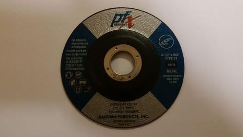 "4 1/2 x .040 x 7/8"" T-27 Cutting Wheel"