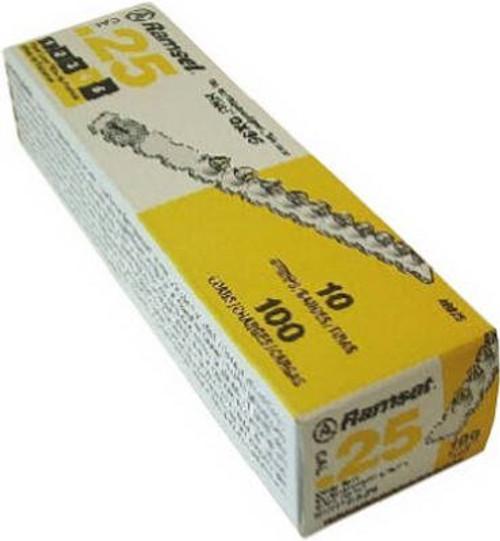.25 Cal Yellow Strip Fastener Load (100/Box)