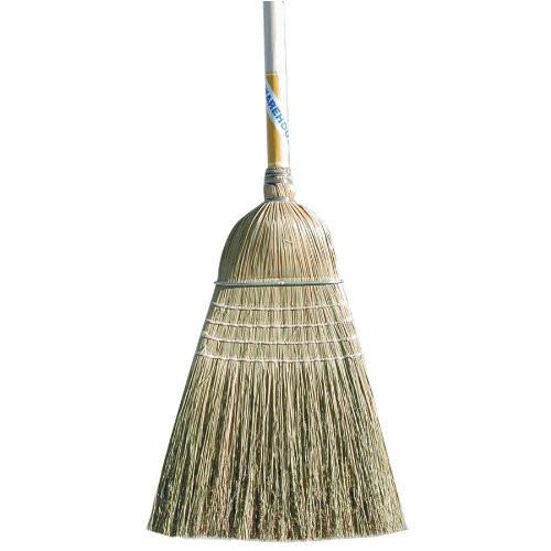 Magnolia Brush Corn/Fibre Warehouse Broom with Heavy-Duty Handle (Case of 12)