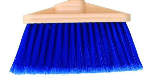 "9"" Magnolia Brush Household Broom w/ Handle"