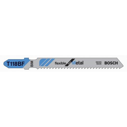 """Bosch 3"""" 14 TPI Bi-Metal Bosch Shank Jigsaw Blade (5 Pack)"""