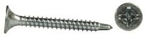 "#8 x 2 3/8"" Phillips Bugle Head Zinc Self-Drill Screws (3,000/box)"