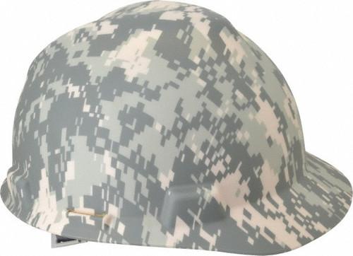 Digital Camo Hard Hat (Front Brim)