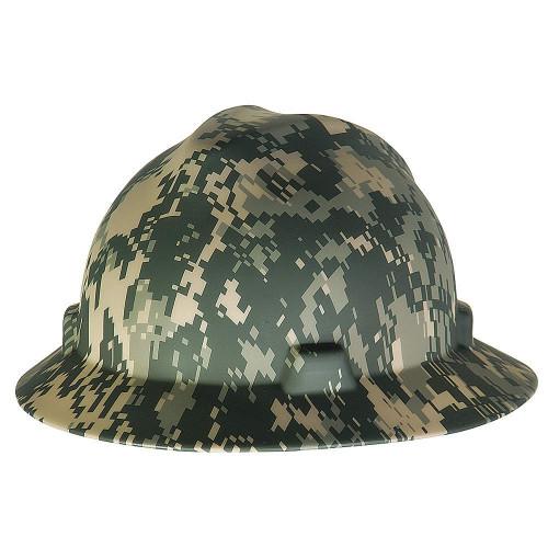Digital Camo Hard Hat (Full Brim)