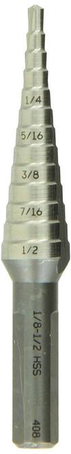 Bosch 1/8-1/2 High Speed Steel Step Drill Bit