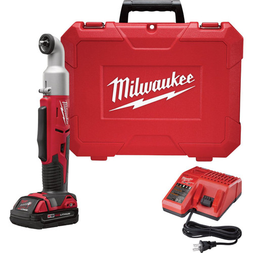 "Milwaukee M18 2-Speed 3/8"" Right Angle Impact Wrench 2668-21CT"
