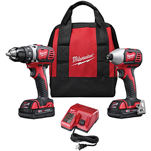 Milwaukee 18-Volt Compact Drill and Impact Driver Combo Kit 2691-22