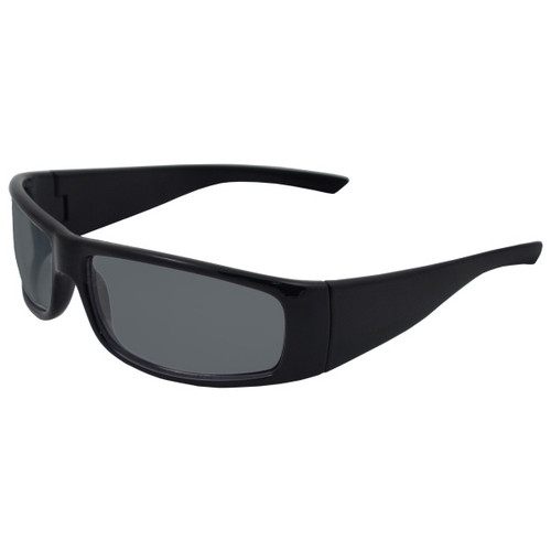 ERB BoasXtreme Safety Glasses- Black/Smoke