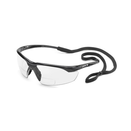 Gateway Safety Conqueror MAG Safety Glasses Black/Clear
