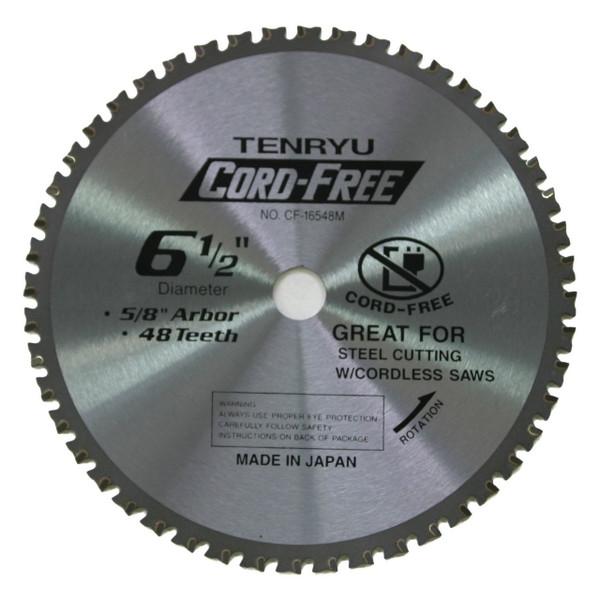 """6 1/2"""" Cord-Free Steel Cutting Blade"""