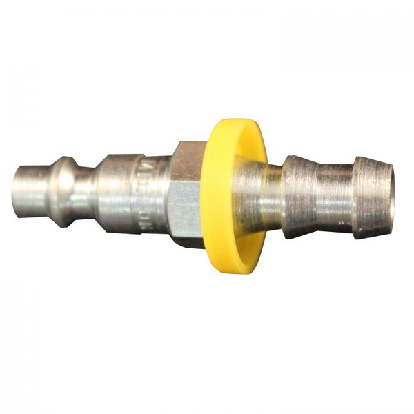 "1/4"" Male M Style Pushlock Plug"
