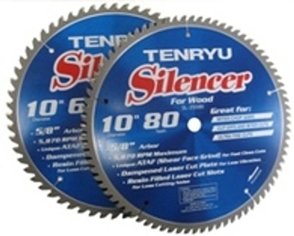 "10"" 80th Silencer Wood Blade"