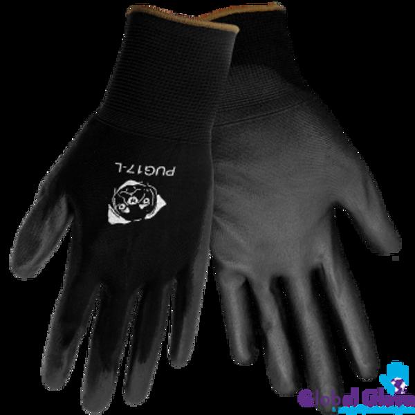 Black General Purpose Work Gloves (Dozen)