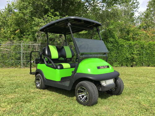 Club Car Precedent 4 Passenger Lime Green Golf Cart -#18NL-LG 18NL-LG