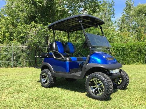 Club Car Precedent 4 Passenger Lifted Blue Golf Cart-18L-BLU 18L-BLU