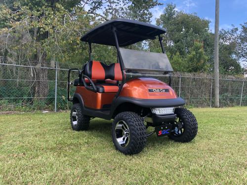 Club Car Precedent 4 Passenger Golf Cart-Lifted Orange Golf Cart-18L-ORG 18L-ORG