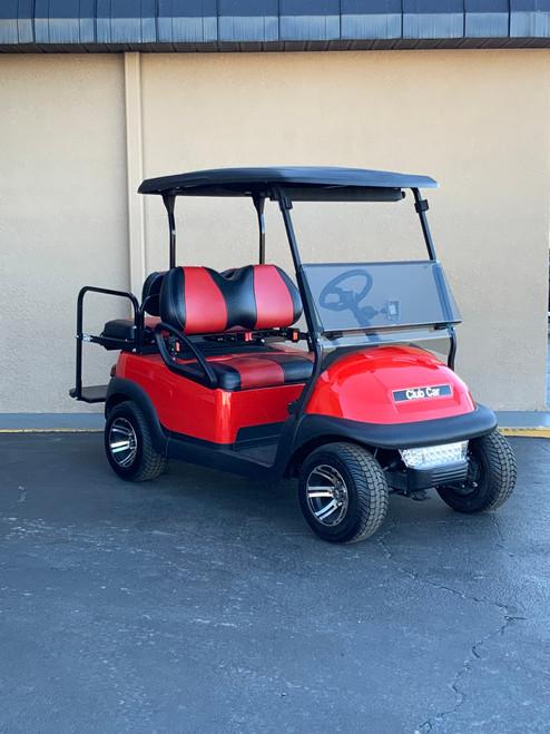 Club Car Precedent 4 Passenger Red Golf Cart -18NL-RED 18NL-RED