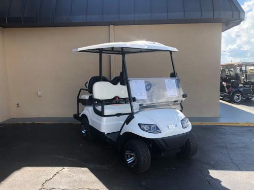 ICON i40 4 Passenger White Golf Cart - I40-WHT-W I40-WHT- W