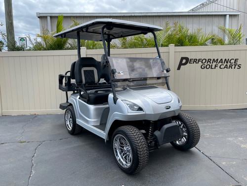 Star Sirius 4 Passenger Silver Golf Cart